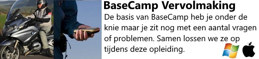 BaseCamp Vervolmaking
